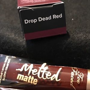 TooFaced Melted Matte LiquidLipstick Drop Dead Red